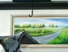 墙体彩绘(手绘餐厅壁画,学校彩绘墙,文化墙,商场背景墙)