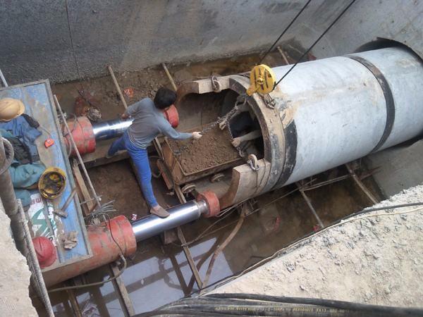 临沂顶管拉管钻机临沂非开挖过马路顶管燃气热力顶管施工开发区