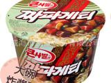 韩国进口食品批发 韩国农心炸酱面、杂酱面 123克*16桶