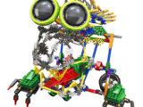 LOZ俐智 A0016大眼机器人益智拼装积木玩具 diy玩具 益