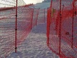 安全防护网,防护杆,滑雪场,戏雪乐园用品大全