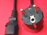 厂家直销 优质欧式烟斗插头电源线,插头电源线