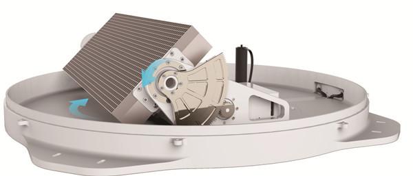 星展测控 T450-ka波段车载动中通天线