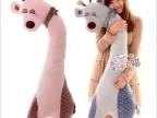 正版可爱吉祥长颈鹿毛绒玩具公仔玩偶1.1米大号  一件代发