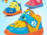 低价促销 小牛人品牌男童女童鞋冬季新款儿童防水魔术贴棉鞋批发