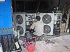 广州专业壁挂机柜机天花机中央空调维修清洗安装加雪种保养