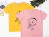 长康童装店 儿童纯棉新款T恤