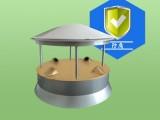 QYCG-09F 超声波风速风向传感器 防腐型