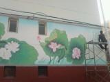 秦皇岛墙体彩绘手绘墙农村彩绘新农村建设粉刷古建彩绘