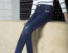 时尚新款女装牛仔裤批发小脚牛杂裤批发货源厂家摆地摊甩卖清货