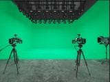 廣州海珠區創意園大型綠幕虛擬演播室出租
