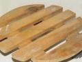 15和20元出售实木仿古花盆架和万向移动花盆架(赠