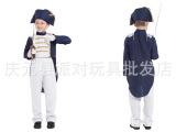 儿童节万圣节 cos儿童将军服装 节目表演服装 儿童拿破仑服装男