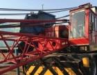 急转二手轮胎起重机红光25吨