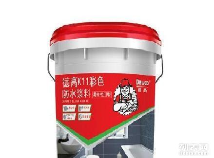 德高K11彩色防水浆料 柔韧III型图片