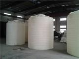 舟山10立方锥底水箱带架子10吨PE储罐尖底排空罐