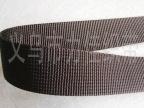 厂家直销 600D 2.5cm黑色美国纹织带 背包 织带厂