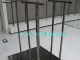 商场不锈钢服装展柜 不锈钢黑镜钢展示台
