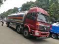 南京铝合金油罐车哪里买欧曼前四后六铝合金配置高价格实惠