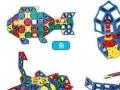 大圣 KILKKO智慧片早教益智立体拼插玩具建构片游乐园建造师