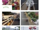 花盆厂家/护栏栏杆绿化/双层种植骑栏鞍式蓄水花盆