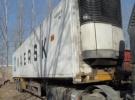 山东出售二手15米冷藏箱半挂车 购车签订法律合同4年11万公里7.3万