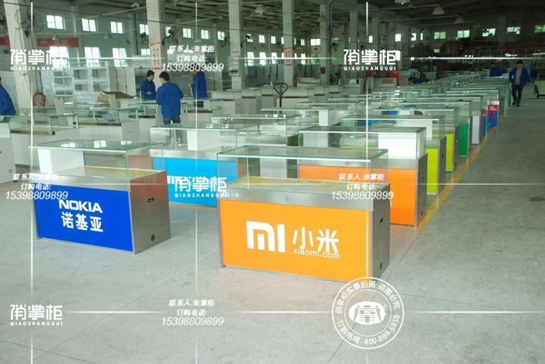 广东俏掌柜商品展示柜厂家 专业生产各类手机展示柜