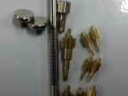 供应小齿轮铜轴/平头尖头测厚规配件/精密