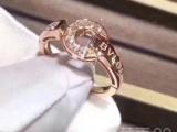 宝格丽BV专柜钻石18k金戒指带证书可定制刻字送礼