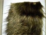 供应海派毛夹色印尖人造毛皮