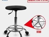 东莞防静电升降工作椅PU无尘车间靠背椅洁净圆凳实验凳