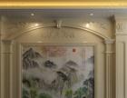 佛山前景艺术背景墙、罗马柱加盟 地板瓷砖