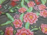 全安纺织绣花厂专业加工金片绣花,亮片绣花,平绣