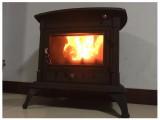 江苏乔治独立式壁炉尼克 别墅铸铁壁炉燃木真火壁炉 取暖炉芯