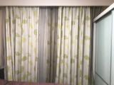 东四窗帘定做以及窗帘轨道窗帘杆安装