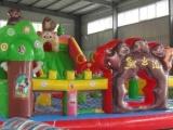 室外大型玩具儿童充气城堡淘气蹦蹦床跳跳床滑梯户外游乐园场设备