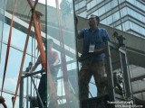 玻璃避風閣安裝豐臺玻璃雨棚安裝