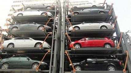 苏州哪里上门回收二手立体车库拆除车库设备