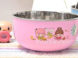 2013北京礼品展爆款热卖 促销赠品新奇礼品不锈钢碗 小孩饭碗