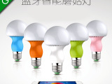 新款创意5W智能LED手机控制蓝牙灯泡 APP无线调光球泡灯OE