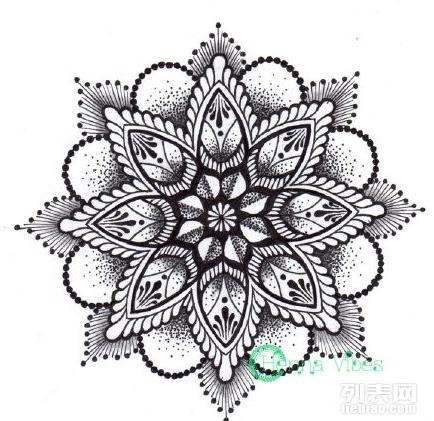 北京纹身店推荐一些超级好看的梵花纹身素材