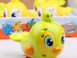 汇乐玩具538专柜正品快乐喷水小鸟拖拉上洗澡玩具 儿童益智玩具
