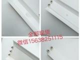 郑州千淼照明现货供应T8LED日光灯单支带罩支架灯