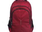 混批新款亮红色韩版休闲可爱尼龙15.6寸电脑包 厂家批发双肩背包