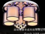 简约欧式水晶灯 水晶灯系列 照明餐吊灯 批发客厅灯