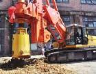 梧州市贺州市桩基础工程施工公司承接旋挖桩机长螺旋桩机基础工程