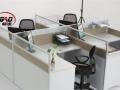 全新杭州办公家具屏风工作位钢架办公桌职员卡座