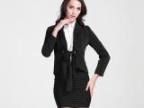 2015春款高端女装 新款女士小西装厂家直销 韩版纯色修身小西装