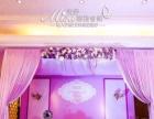 粉紫色婚礼主题布置