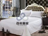 酒店布草60*60床单纯白贡缎宾馆床上用品全棉床单厂家直销